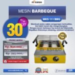 Jual Mesin Pemanggang Sate – BBQ 2 Tungku (Gas) di Pekanbaru