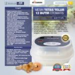 Jual Mesin Tetas Telur 12 Butir Otomatis – AGR-TT12 di Pekanbaru