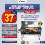 Jual Mesin Kambing Guling BBQ Roaster (GRILLO-LMB44) di Pekanbaru