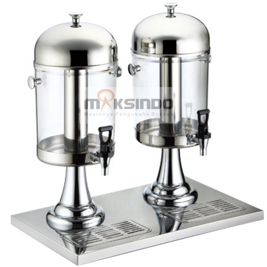 Jual Juice Dispenser / Buffet Dispenser 2 Tabung di Pekanbaru