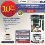 Jual Mesin Kopi Instant (Auto Coffee Instant Machine) Di Pekanbaru