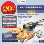 Jual Alat Cetak Long Potato MKS-LPCT30 di Pekanbaru