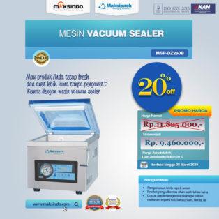 Jual Mesin Vacuum Sealer ( MSP-DZ260B) di Pekanbaru