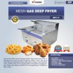 Jual Mesin Gas Deep Fryer MKS-72 di Pekanbaru