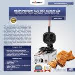 Jual Mesin Kue Waffle Ikan Taiyaki – Gas (TYK02) di Pekanbaru