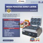 Jual Mesin Pencetak Donut Listrik MKS-DN50 di Pekanbaru
