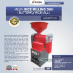 Jual  Mesin Rice Milling 3in1 (Butterfly Rice Mill) AGR-BTFLY220 di Pekanbaru