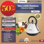 Jual Teko Listrik Stainless (Electrik Kettel) ARD-KT12 di Pekanbaru