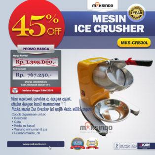 Jual Mesin Ice Crusher MKS-CRS30L di Pekanbaru