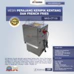 Jual Mesin Perajang Keripik Kentang dan French Fries – MKS-CT100 di Pekanbaru
