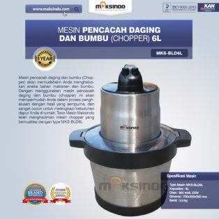 Jual Mesin Pencacah Daging dan BumbuMKS-BLD6L di Pekanbaru