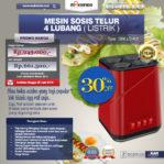 Jual Mesin Sosis Telur 4 Lubang Grillo-400 di Pekanbaru