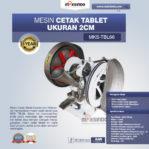 Jual Mesin Cetak Tablet Ukuran 2cm di Pekanbaru