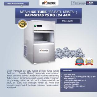 Jual Mesin Ice Tube (Es Batu Kristal) di Pekanbaru