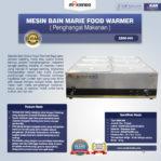 Jual Mesin Bain Marie Penghangat Makanan (EBM Type) di Pekanbaru
