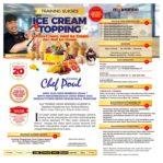 Training Sukses Ice Cream dan Topping Untuk Usaha, Minggu 07 Juli 2019