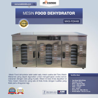 Jual Food DehydratorMKS-FDH48 di Pekanbaru