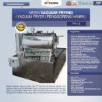 Jual Mesin Vacuum Frying Kapasitas 1.5 kg di Pekanbaru