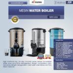 Jual Mesin Water Boiler (MKS-D20) di Pekanbaru