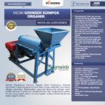 Jual Mesin Grinder Kompos Organik di Pekanbaru