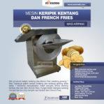 JUal Mesin Keripik Kentang dan French Fries KRP650 di Pekanbaru