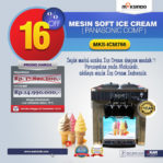 Jual Mesin Soft Ice Cream ICM766 (Panasonic Comp) di Pekanbaru