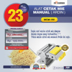 Jual Cetakan Mie Manual Rumah Tangga ARDIN di Pekanbaru