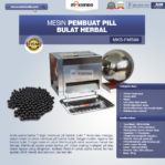 Jual Mesin Pembuat Pill Bulat Herbal (FMS99) Di Pekanbaru