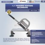 Jual Alat Pengiris Kentang Gelombang MKS-PS269 Di Pekanbaru