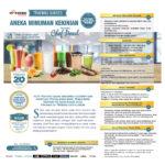 Training Usaha Aneka Minuman Kekinian, Sabtu 21 Maret 2020