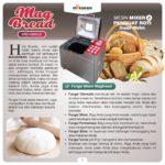Jual Pembuat Roti Bread Maker ARD-BM55X di Pekanbaru