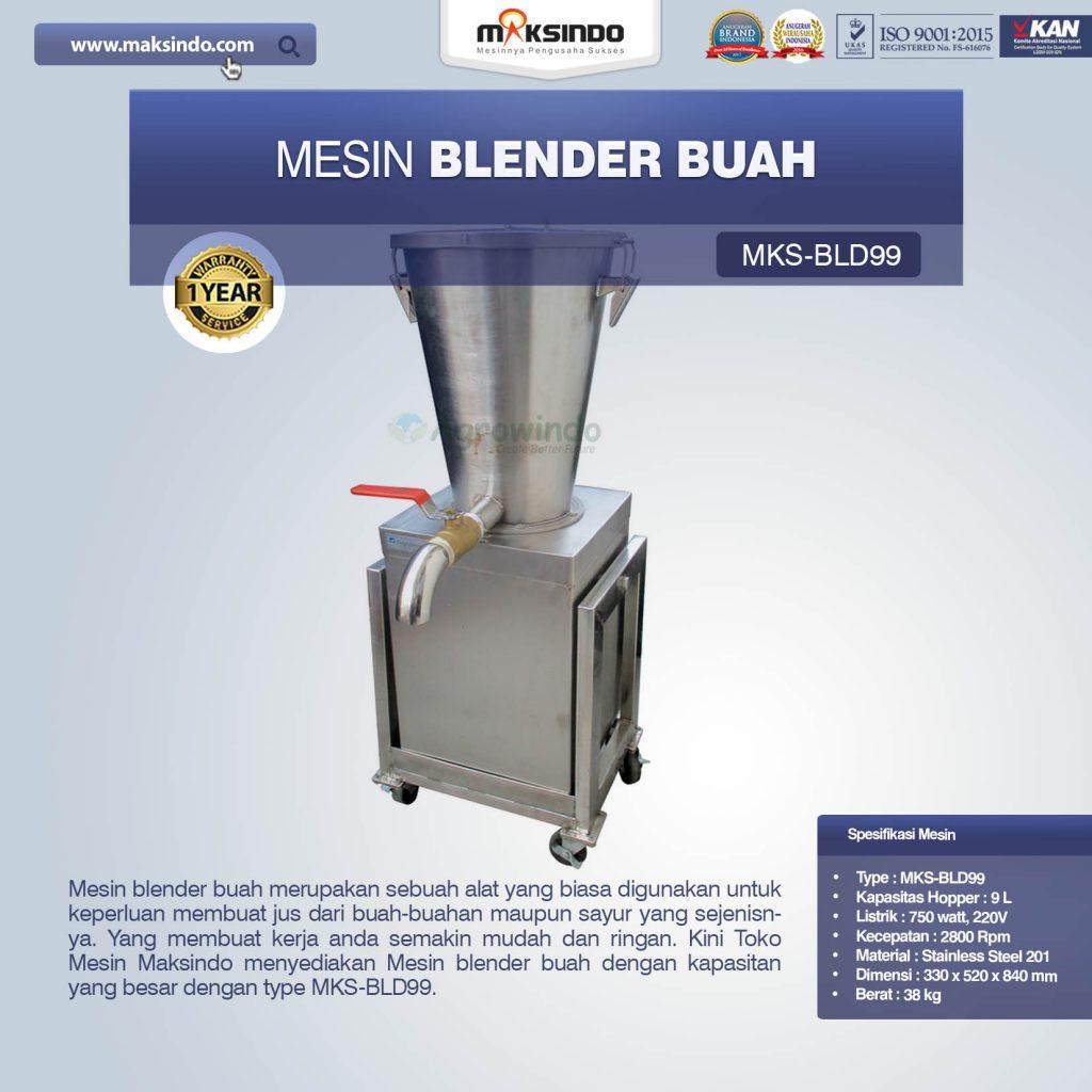 Jual Mesin Blender Buah MKS-BLD99 di Pekanbaru