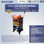Jual Cup Sealer Manual plus Counter (CPS-919) di Pekanbaru