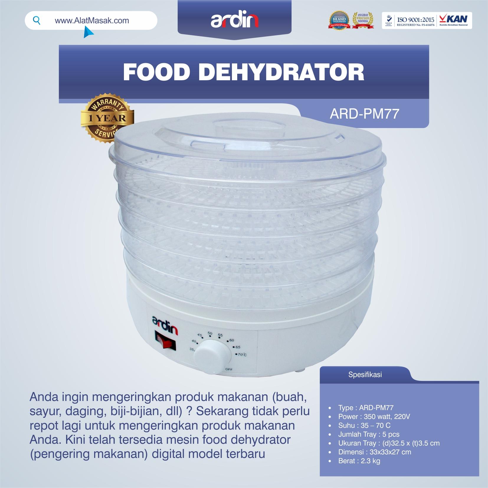 Jual Food Dehydrator ARD-PM77 di Pekanbaru