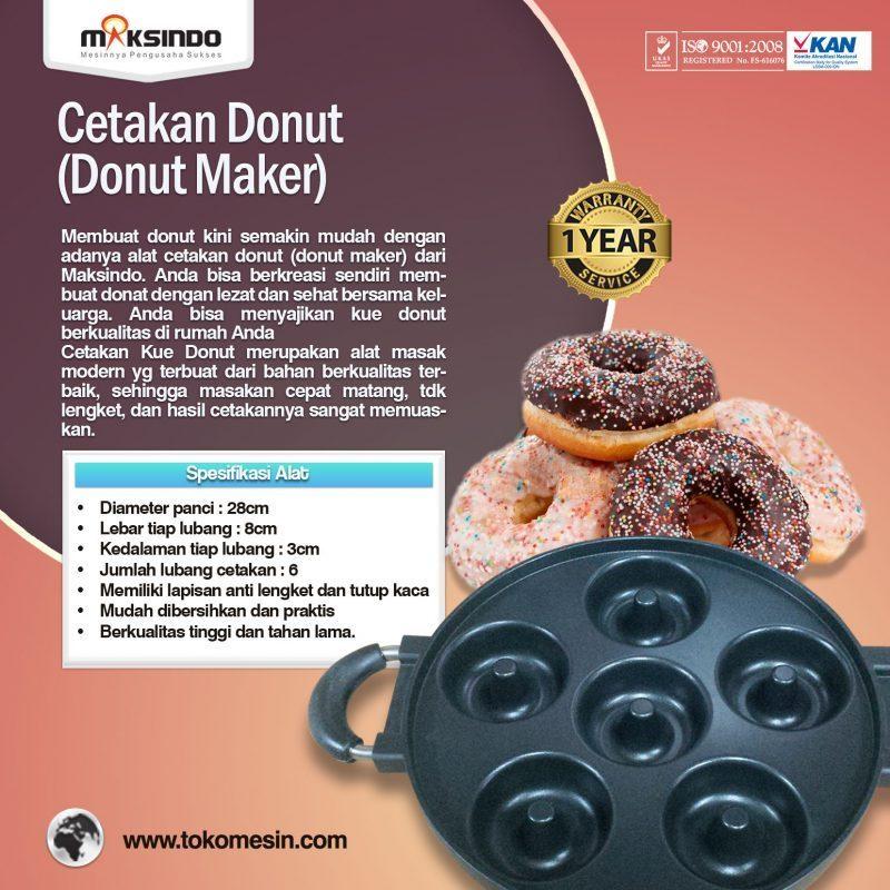 Jual Cetakan Donut (Donut Maker) di Pekanbaru