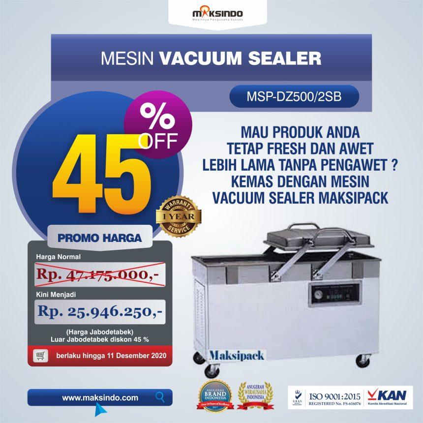 Jual Mesin Vacuum Sealer (DZ500/2SB) di Pekanbaru