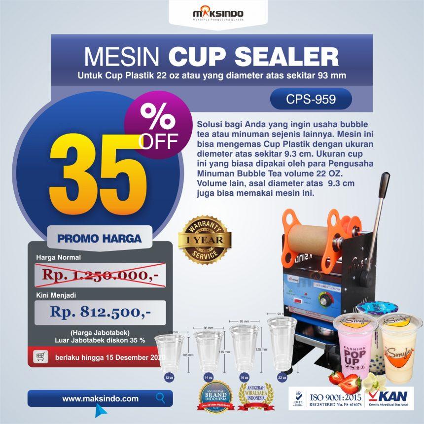 Jual Mesin Cup Sealer CPS-959 di Pekanbaru